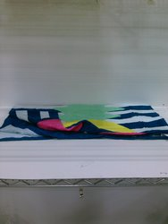 "Jay Franco Pineapple Beach Towel - Multi colored - 27"" x 58"""