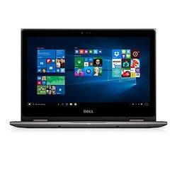 """Dell i5368-0502GRY 13.3"""" FHD 2-in-1 Laptop (Intel Core i3-6100U 2.3GHz Processor, 4 GB RAM, 500 GB HDD, Windows 10) Gray"""