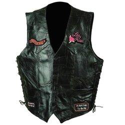 Rock Leather Ladies Vest - 2X