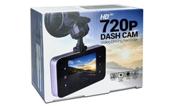"Automotive 2.4"" LCD Screen 720p HD Dash Cam with Night Vision"