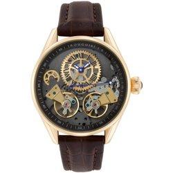 Rougois XL Skeleton Automatic Dual Time Zone Watch RGSA47