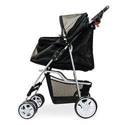 PetsN'all Foldable Pet Stroller -Black