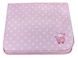 Supreme Breathability and Comfort Quilted and Skidproof Baby Mattress 27 X 47 Inch, Pink