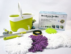 2016 New Home Essenial Spin Mop 10 pieces Set ** BEST VALUE IN THE MARKET !!** (Sage)