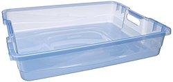 Rubbermaid 1821707 71 Quart Large Blazer Blue Organizing Tray