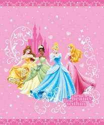 Disney Princess Quilt in Twin / Full Size