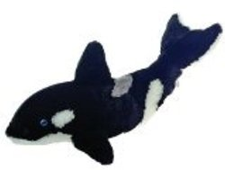 "27"" Large Orca Killer Whale Plush Stuffed Animal Toy by Fiesta Toys"