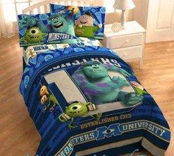 "Disney Monsters University 64""x86"" Microfiber Comforter - Multi - Twin"