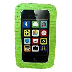 Cell Phone Lime Green Pinata