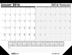 House of Doolittle HOD134 Current And Future Month Desk Pad Jan-Dec