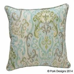 "Park Designs 124-54 20"" Spa Retreat Pillow- Geometric"