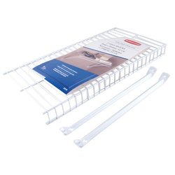 Rubbermaid Wire Shelving Linen, 2 by 12-Inch, Metal