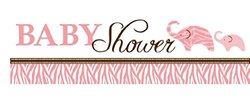 Creative Converting Party Banner - Pink
