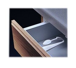 KidCo Adhesive Mount Cabinet & Drawer Lock - Pack of 6