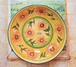 Serving Pasta Bowl, Serving Platter SUNFLOWER YELLOW