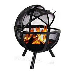 Sunnydaze Flaming Ball Fire Pit - 29 Inch Diameter Sphere