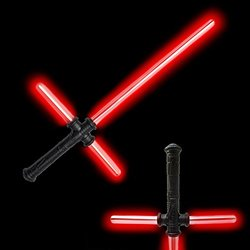 Fun Central AU206 LED 27 Inch Tri-Saber with Sound - Red