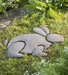 Wind & Weather Decorative Stones Rabbit Garden Accent