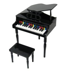 Child's Baby Grand Piano (Black)