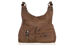 Afonie Women's Casual Messenger Handbag - Brown