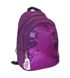 Skechers Twinkle Toes Girls & Boys Sequins Forever Backpack - Voilet