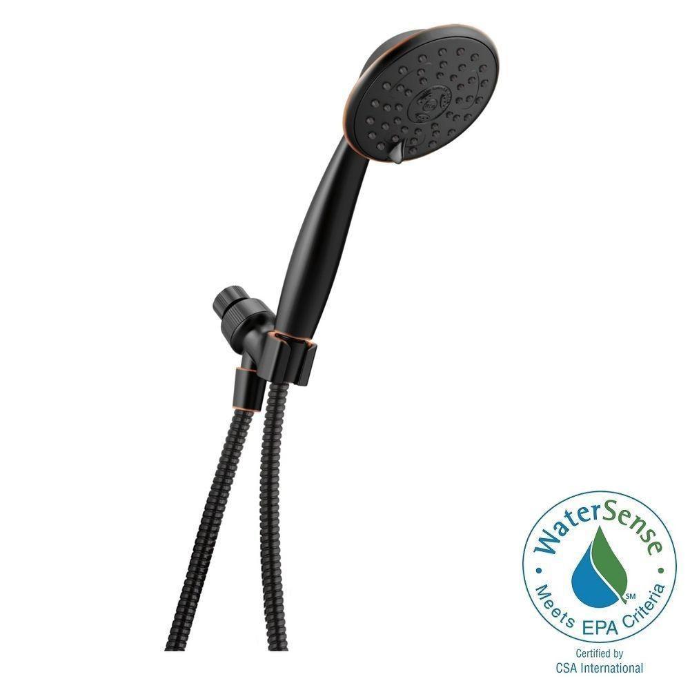 Delta Porter 3-Spray Hand Shower - SpotShield Oil Rubbed Bronze ...