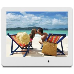 "ViewSonic 8"" Digital Frame - White (VFD820-70)"
