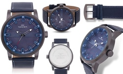 Men's Taven Haven Collection Watch - Blue/Gray