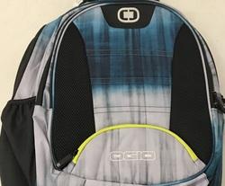 """OGIO Stellar 17"""" Shoulder Straps Laptop Backpack - Blue/Grey"""