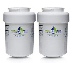 2 X WLF-GE01 / GE MWF, MWF water filter, GE mwf filter - Replacement Filter for GE MWF, MWFA, GWF, GWFA, GWF01, 46-9991, 46-9996, 469991, 469996, Amana 1251966