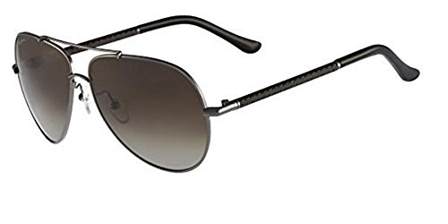 9defe6aab27cf Salvatore Ferragamo 59mm Men s Sunglasses - Gunmetal Brown - Check ...