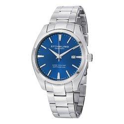 Stuhrling Original Men's Swiss Stainless Steel Bracelet Watch (GP14641)