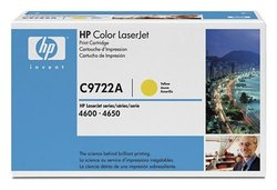 HP 641A (C9722A) Yellow Original LaserJet Toner Cartridge
