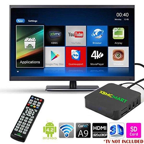 xbmcmart unlocked android tv box fully loaded kodi  xbmc