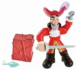 Fisher-Price Jake and The Never Land Pirates Action Figure Pack - Hook 1260157