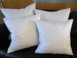 "Bed of Roses - Set of Two - 24"" X 24"" 95% Feather 5% Down Pillow Inserts - Made in USA"