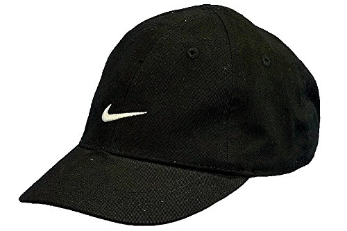 7fb4d317ea8 Nike Boys Infants 12-24 Months Black Embroidered Swoosh Cap - Check ...