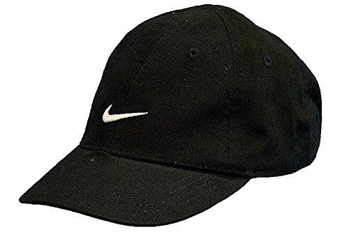 87d9783c8 Nike Boys Infants 12-24 Months Black Embroidered Swoosh Cap - Check ...