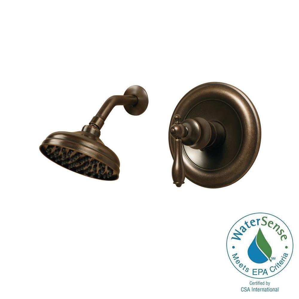 Pegasus Estates WaterSense 1-Handle Shower Faucet - Heritage Bronze ...