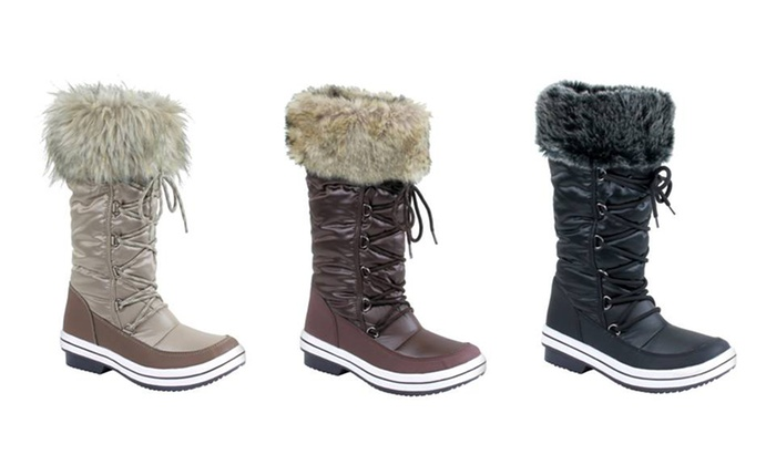 Mata Women's Fur-lined Snow Boots