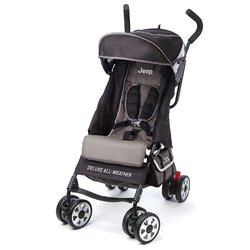 Jeep Deluxe All-Weather Umbrella Stroller - Carbon
