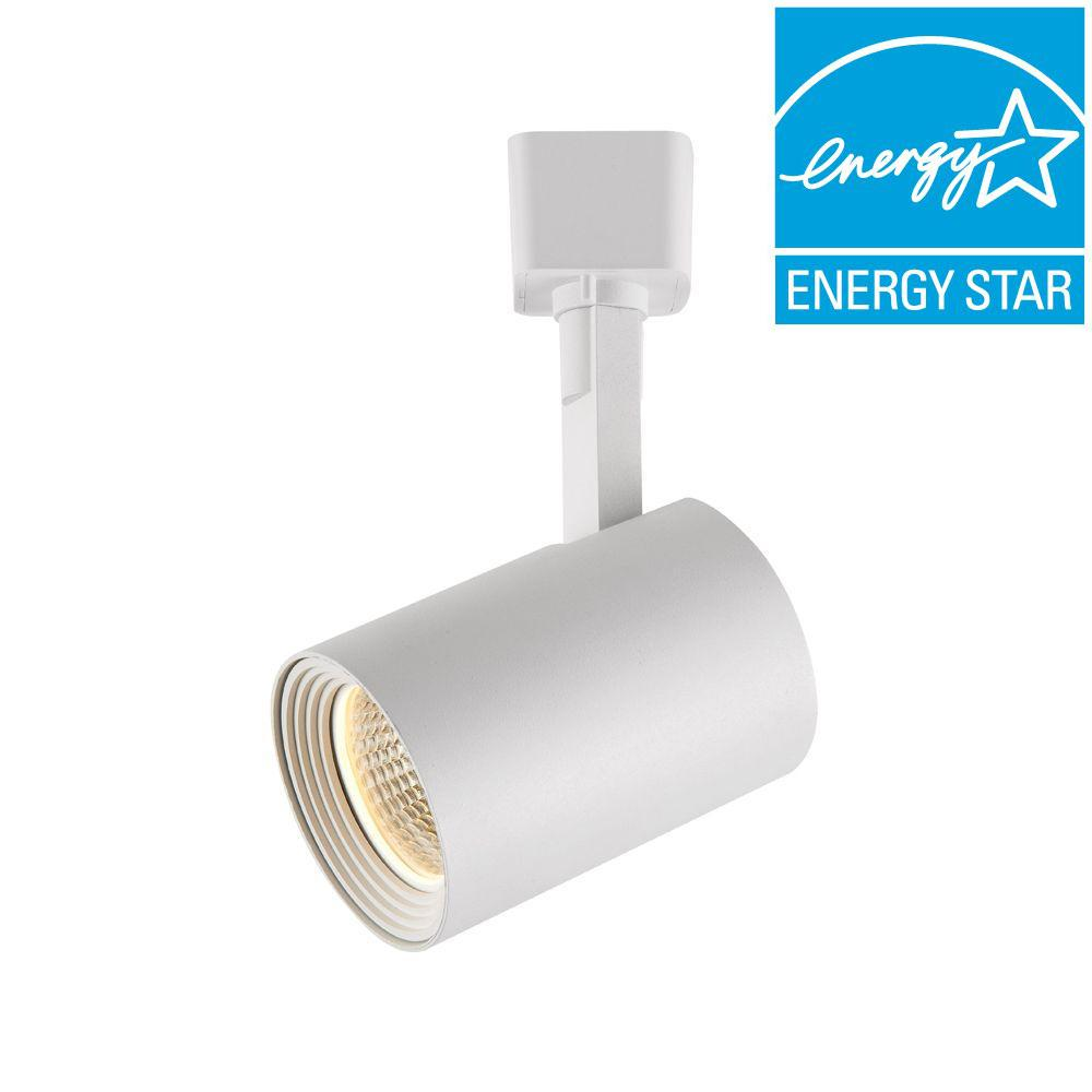 Hampton Bay Dimmable Led Cylinder Track Lighting Head White 1000001023 Check Back Soon