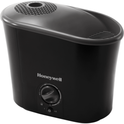 Honeywell Easy-to-Care Warm Mist Humidifier - 1.3 Gallons - Black 1278581