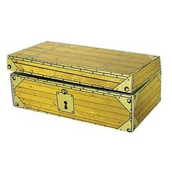 US TOY GS76 Cardboard Treasure Chest 1282524