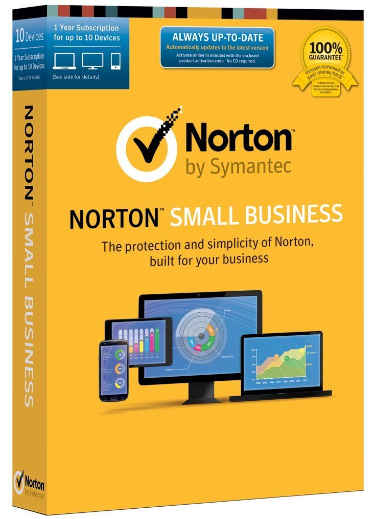 Now, with Norton Small Business, get peace of mind by quickly adding the protection you need that works all day, every day. And Norton Small Business is powered by the same protection engine that is trusted by top companies globally.