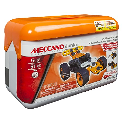 Meccano Junior Pullback Race Car