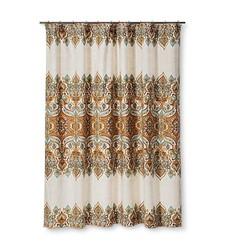 Mudhut 72x72 Anya Shower Curtain