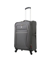 "SwissGear 24"" Spinner Luggage - Charcoal"