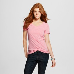 Mossimo Women's Vee T-Shirt - Pairs Pink - Size: XL 1101639