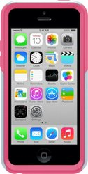 OtterBox Commuter Series Case for iPhone 5c, Pink/Gray (P/N 7733404)